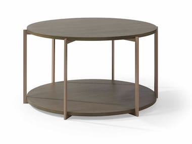Round metal coffee table GEO H.44