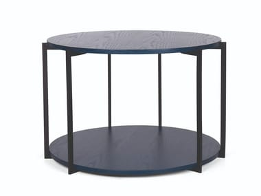 Round metal coffee table GEO H.51