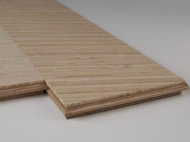 Wood veneer parquet GEOMETRICO - PLANK