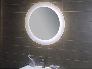 Specchio con illuminazione integrata per bagno SUPERIORE E INFERIORE ...