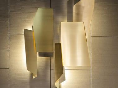 Lampada da parete a LED in metallo GEOMETRY