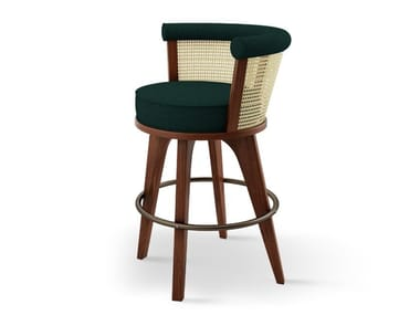Stool with back GEORGE | Stool