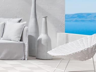 Vaso in ceramica GERVASONI - INOUT 91 White