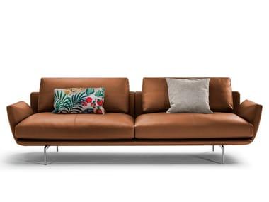 2 seater leather sofa GET BACK | Leather sofa
