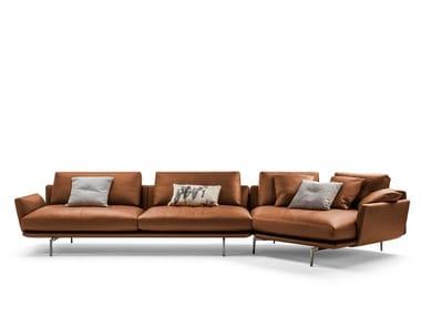 3 seater leather sofa GET BACK | 3 seater sofa