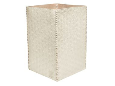 Leather waste paper bin 354 | Leather waste paper bin