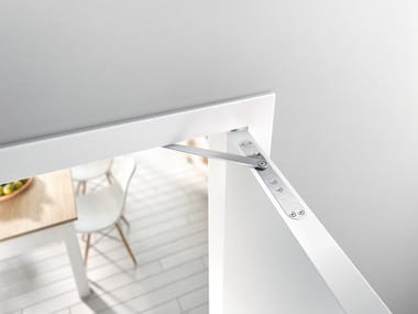 Integrated door damper GEZE ACTIVESTOP