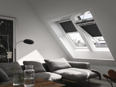 Wooden horizontally pivoted window GGU INTEGRA® SOLAR