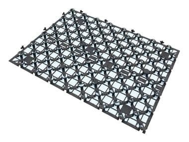 Pannello preformato per pavimenti radianti GIACOMINI SPIDER R979SY021