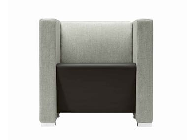 Fabric armchair with armrests GIANO+ 802