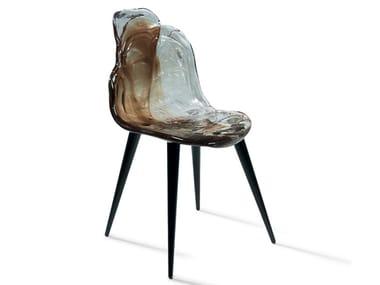 Chaise en polycarbonate GILDA B