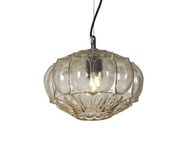 Glass pendant lamp GINGER | 1