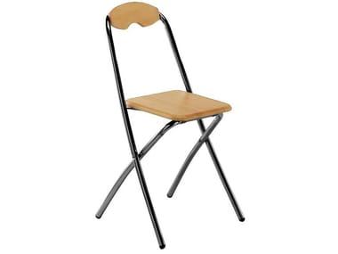 Folding stool with back GINGER 166