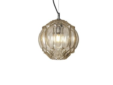 Glass pendant lamp GINGER | 2