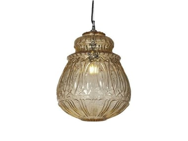 Glass pendant lamp GINGER | 3