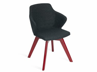 Fabric chair with armrests GIO   Chair