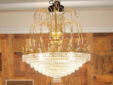 Direct light chandelier GIOACCHINO