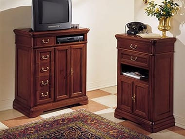 Free standing solid wood hallway unit GIOTTO | Hallway unit