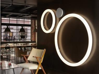 Polyethylene wall lamp / ceiling lamp GIOTTO | Wall lamp