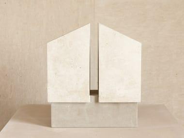 Vaso in pietra leccese GIRASOLE
