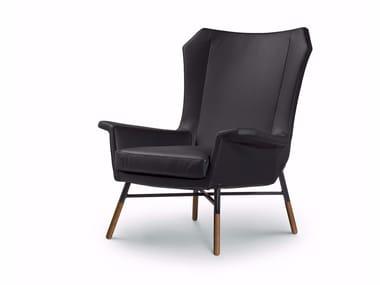 GIULIETTA | Leather armchair