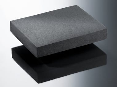 Cellular glass Natural insulating felt and panel for sustainable building GLAPOR
