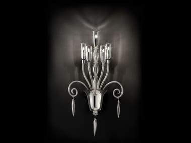 Murano glass wall lamp GLASGOW