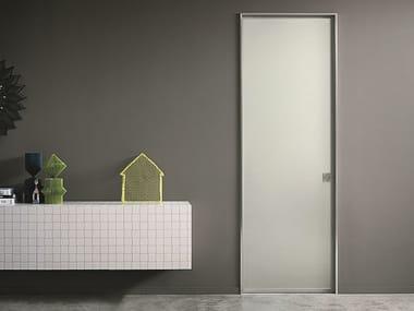 Glass and aluminium sliding door L41 | Glass and aluminium door