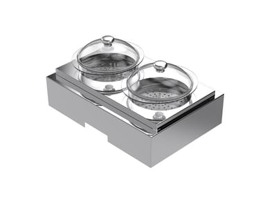 Induction Professional steam cooker Glass steamer kit