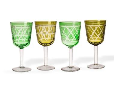 Set di bicchieri da vino in vetro TIE UP | Set di bicchieri da vino