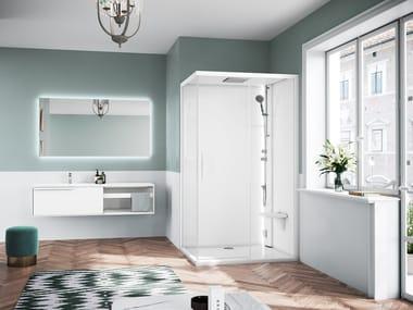 Corner multifunction shower cabin GLAX 1 2.0 2P