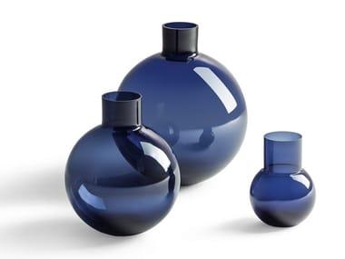 Glass vase Gli Ogget