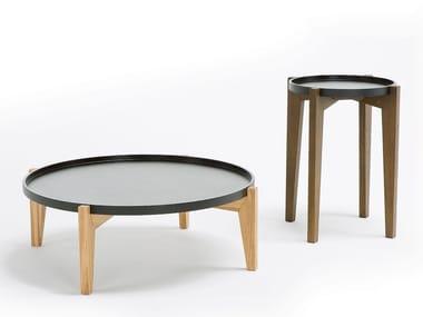 Tavolino basso rotondo GLOBEN