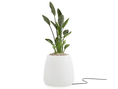 Plastic garden vase with Light GOBI 1 | Garden vase with Light