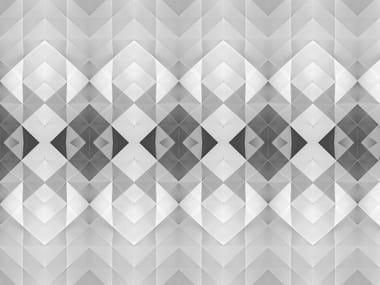 Geometric optical wallpaper GOHEI