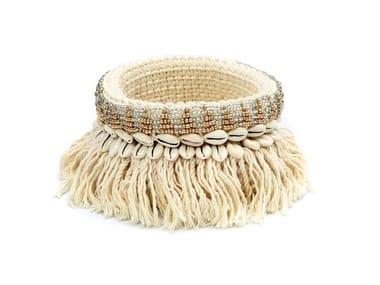 Cotton basket GOLD & SILVER