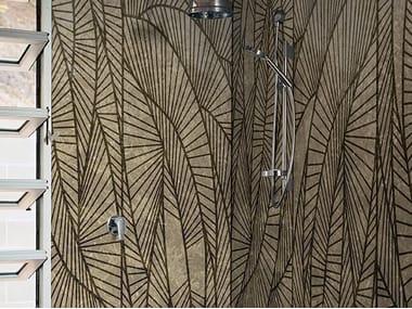 Bathroom wallpaper GOOD VIBES