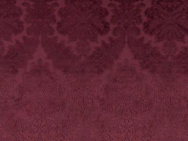 Damask velvet and polyester fabric GOSH