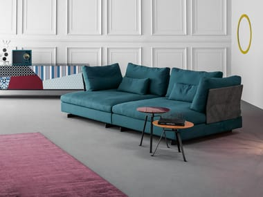 Upholstered Fabric Sofa With Removable Cover GOSSIP | Sofa