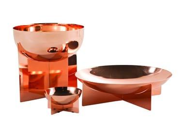 Centrotavola in acciaio inox GRAAL | Centrotavola