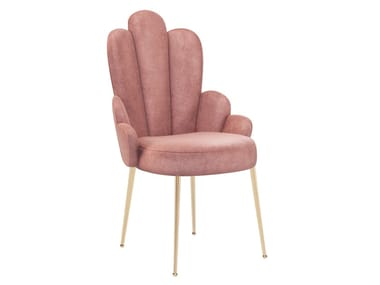 Upholstered fabric chair GRACE | Fabric chair