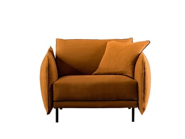 Armchair with armrests GRAFFITI | Armchair