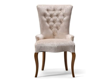 Fabric chair with armrests GRAN DUCA | Chair with armrests
