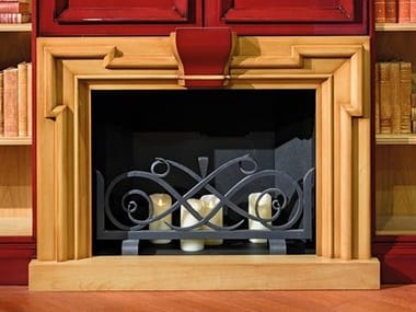 Cherry wood Fireplace Mantel GRAN DUCA | Cherry wood Fireplace Mantel