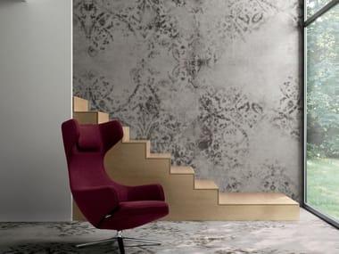 Pavimento/rivestimento in gres porcellanato per interni ed esterni GRAND CARPET | Smoke C