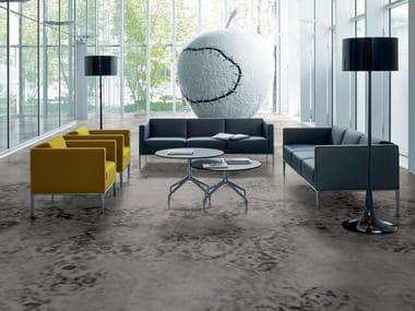 Pavimento/rivestimento in gres porcellanato per interni ed esterni GRAND CARPET | Smoke F