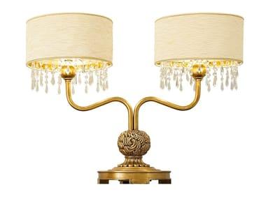 Lampada da tavolo GRAND ROYAL | Lampada da tavolo in similpelle