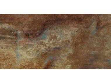 Pavimento/rivestimento in gres porcellanato effetto cemento GRANDE CONCRETE LOOK | Decoro Ruggine
