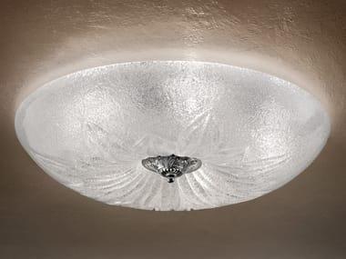 Plafoniera incandescente in graniglia GLASS VE 1115 PL5