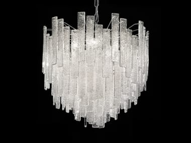 Direct Light Marble Grit Chandelier Graniglia Ve 1145